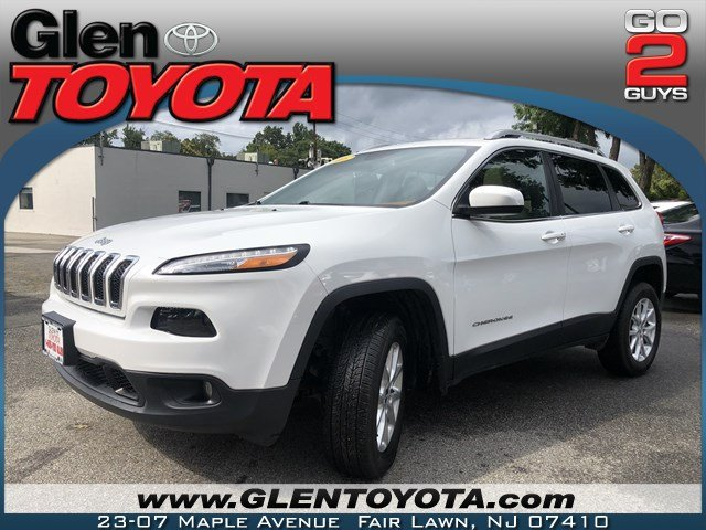 Pre-Owned 2016 Jeep Cherokee Latitude 4-CYL 4WD SUV