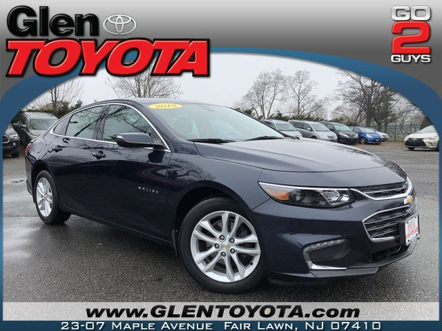 Pre-Owned 2018 Chevrolet Malibu LT 4-CYL 4DR SEDAN