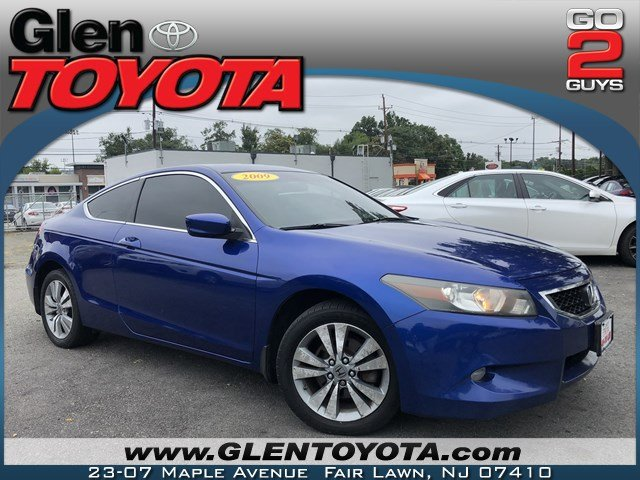 Pre Owned 2009 Honda Accord EX L 4 CYL 2DR COUPE