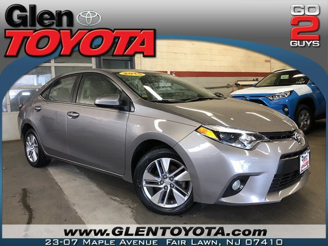 Certified Pre-Owned 2015 Toyota Corolla ECO
