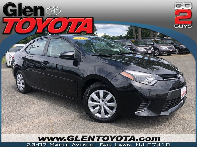 Certified Pre-Owned 2016 Toyota Corolla LE 4-CYL 4DR SEDAN