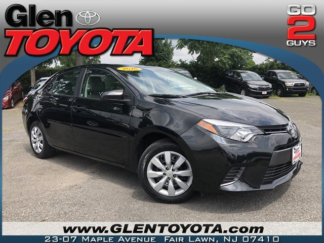 Pre-Owned 2016 Toyota Corolla LE 4-CYL 4DR SEDAN