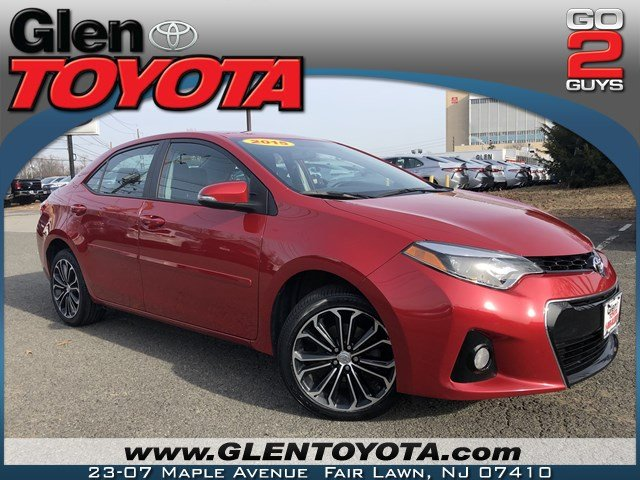 Certified Pre-Owned 2015 Toyota Corolla S Plus 4-CYL SEDAN
