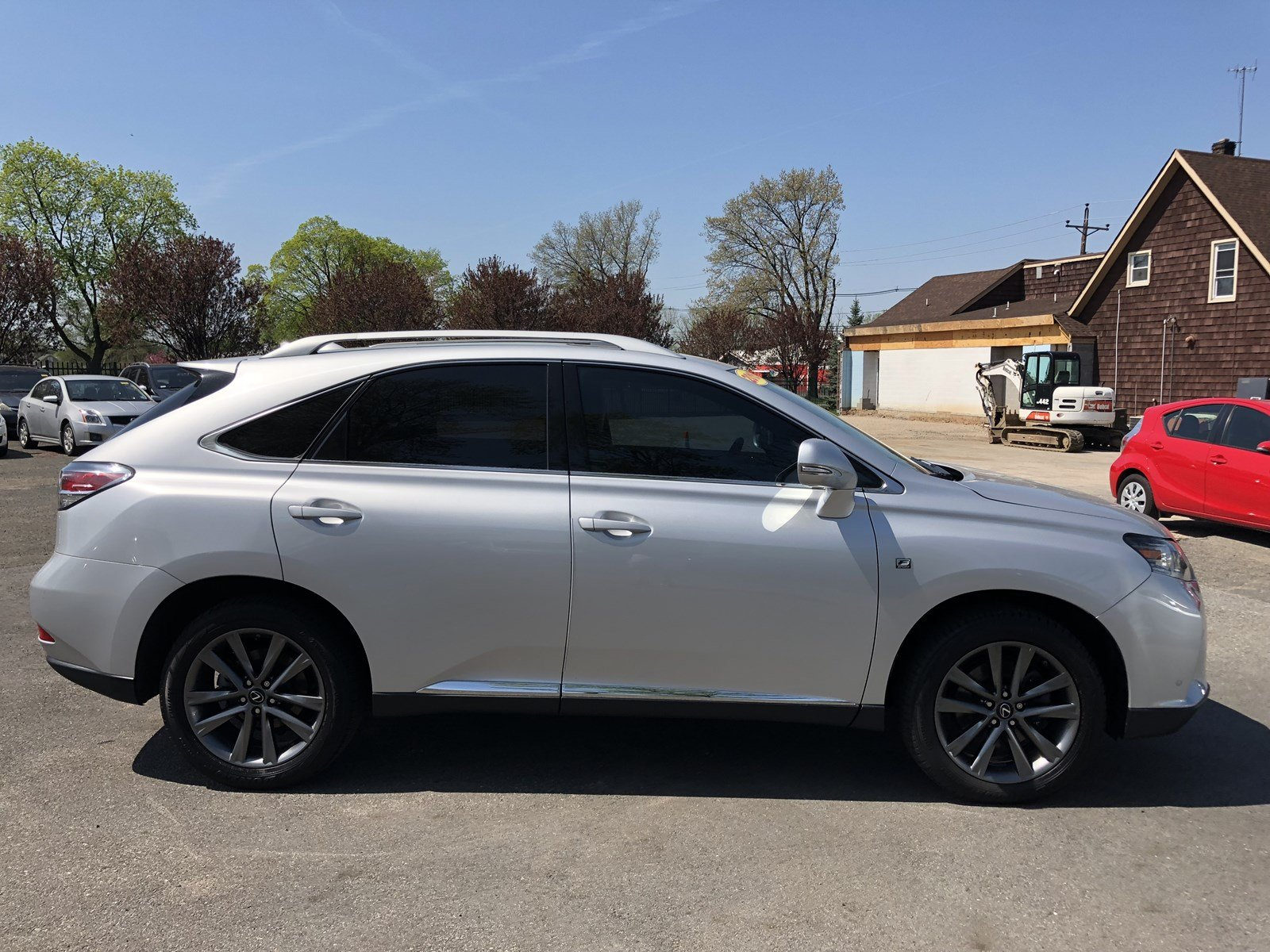 white review in lexus awd package westend edmonton watch youtube touring rx