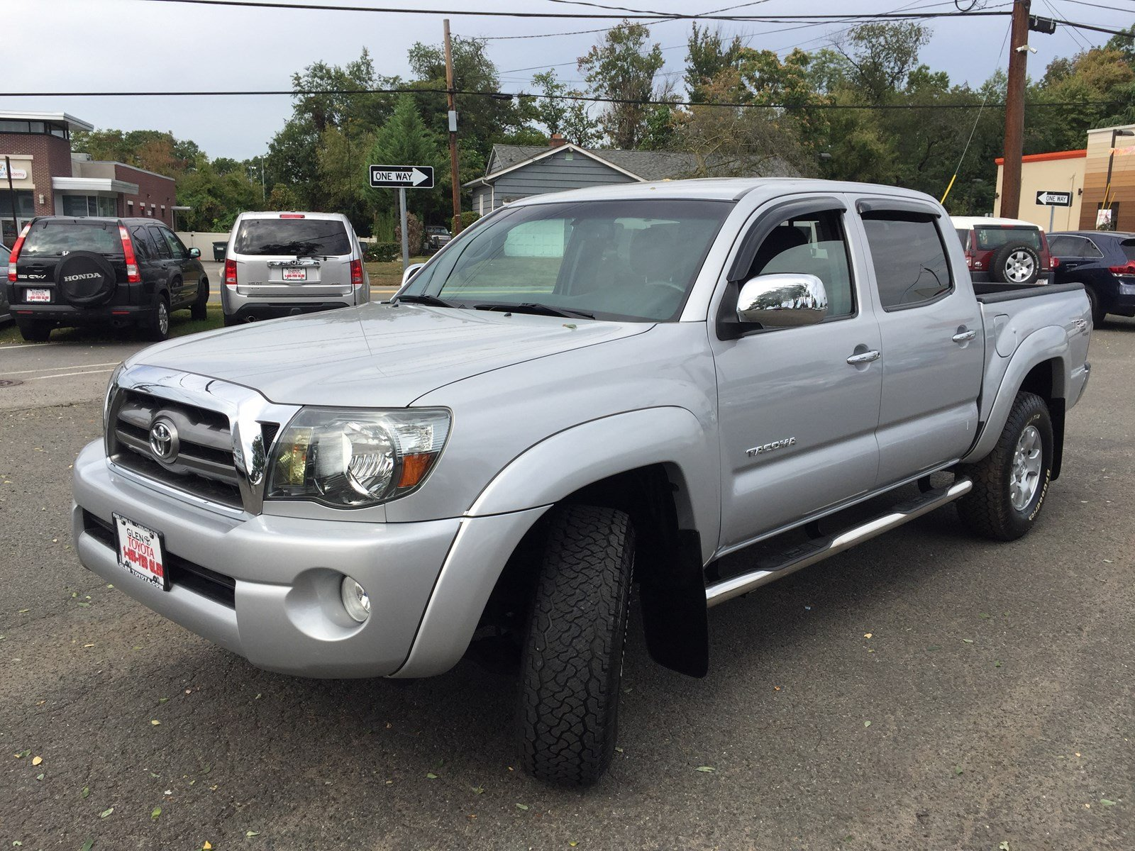 Pre Owned 2010 Toyota Tacoma V6 Sr5 4wd Trd Dbl Cab