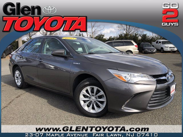 Certified Pre-Owned 2017 Toyota Camry Hybrid LE SEDAN