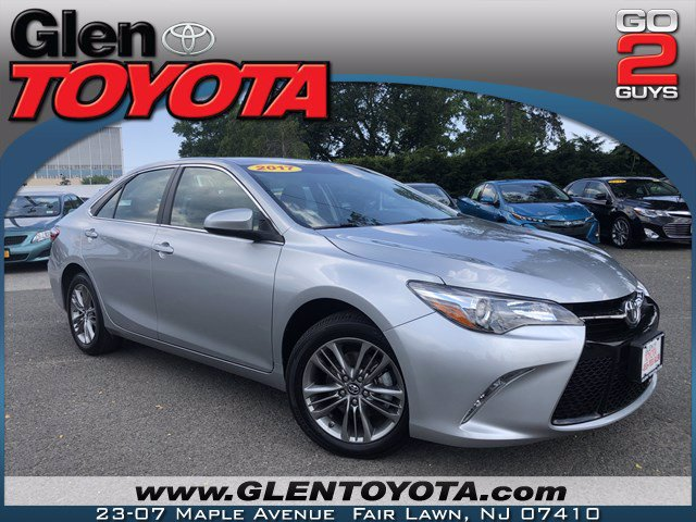 Certified Pre-Owned 2017 Toyota Camry SE 4-CYL SEDAN
