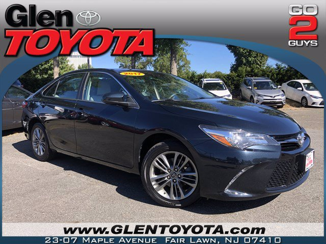 Certified Pre-Owned 2017 Toyota Camry SE 4-CYL 4DR SEDAN