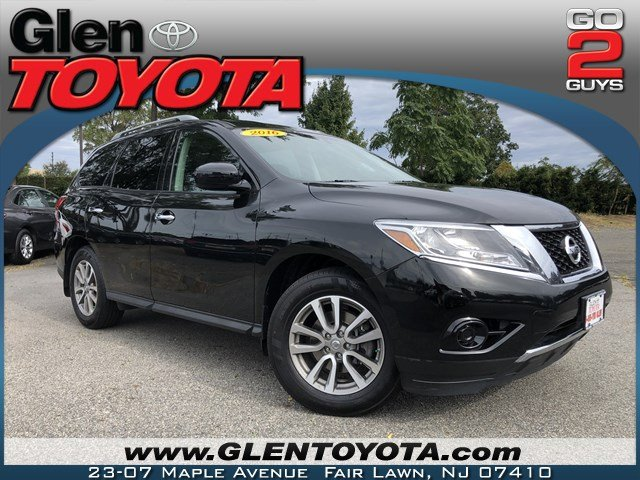 Pre-Owned 2016 Nissan Pathfinder S V6 4WD 3RD ROW SUV