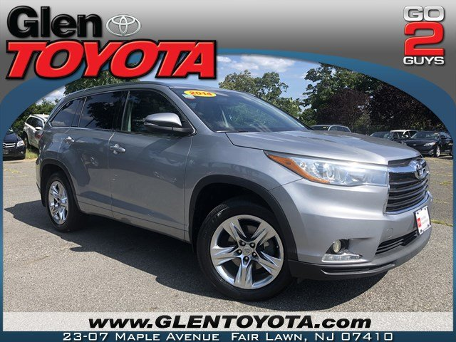 Certified Pre-Owned 2014 Toyota Highlander LTD