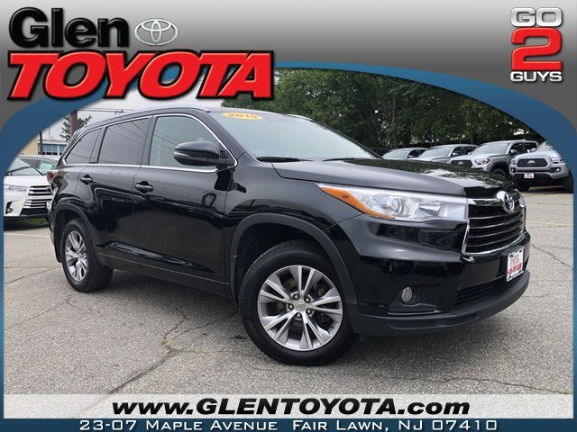 Certified Pre-Owned 2015 Toyota Highlander XLE V6 AWD SUV