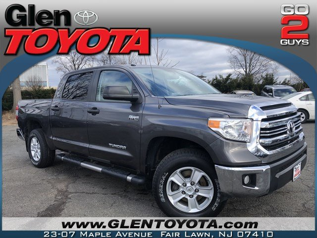 Certified Pre Owned 2016 Toyota Tundra Sr5 V8 4wd Crewmax