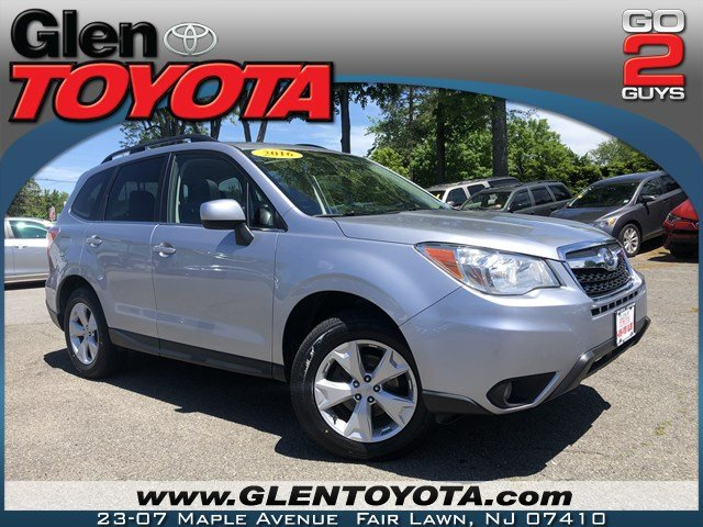Pre Owned 2016 Subaru Forester 2 5i Limited 4 Cyl Awd Suv