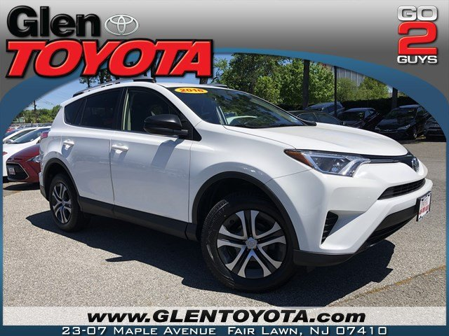 Certified Pre Owned 2016 Toyota Rav4 Le 4 Cyl Awd Suv
