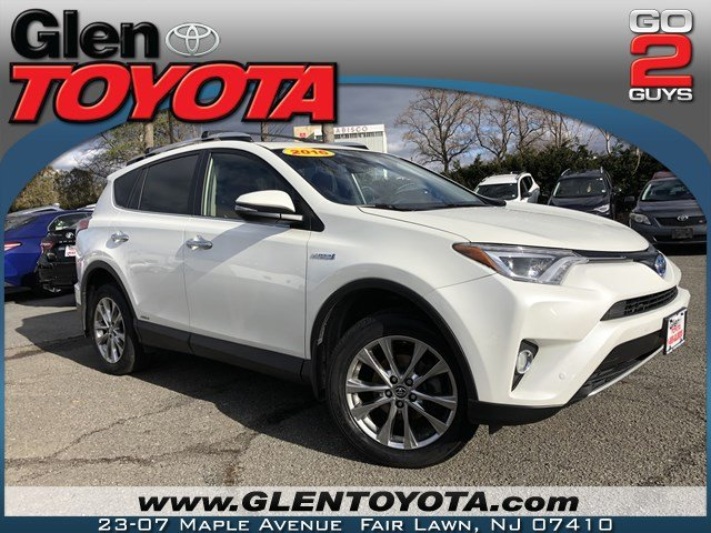Certified Pre Owned 2016 Toyota Rav4 Hybrid Limited Awd Suv