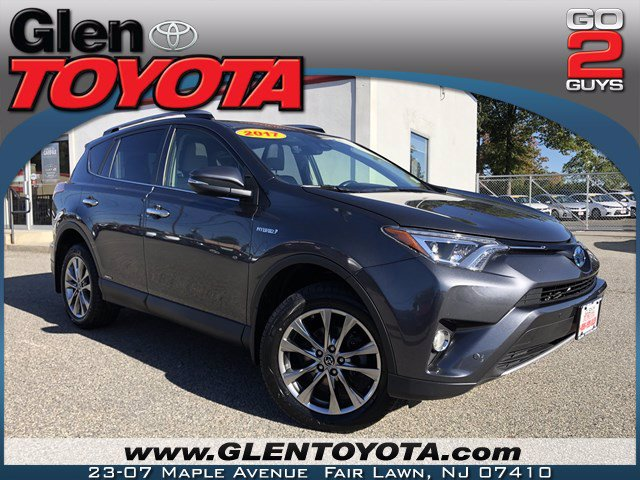 Certified Pre-Owned 2017 Toyota RAV4 Hybrid Limited AWD SUV