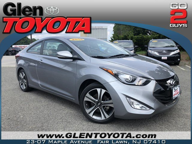 Pre-Owned 2014 Hyundai Elantra 2DR 4-CYL COUPE