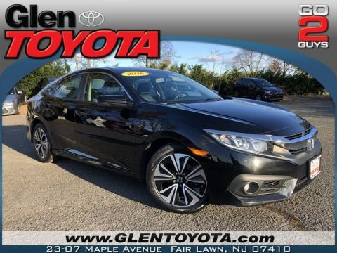 Pre-Owned 2016 Honda Civic Sedan EX-L 4-CYL 4DR SEDAN