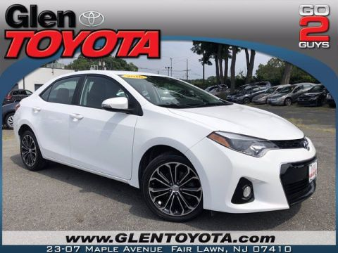Pre-Owned 2016 Toyota Corolla S Premium 4-CYL SEDAN