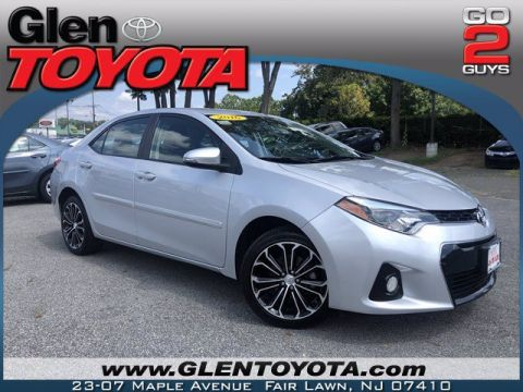 Pre-Owned 2016 Toyota Corolla S Plus 4-CYL 4DR SEDAN