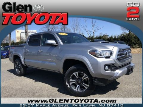 Certified Pre-Owned 2016 Toyota Tacoma TRD Sport V6 4WD DBL CAB