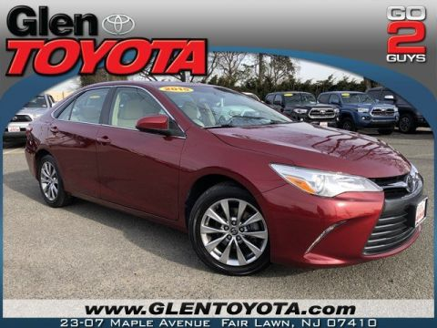 Certified Pre-Owned 2015 Toyota Camry XLE 4-CYL SEDAN