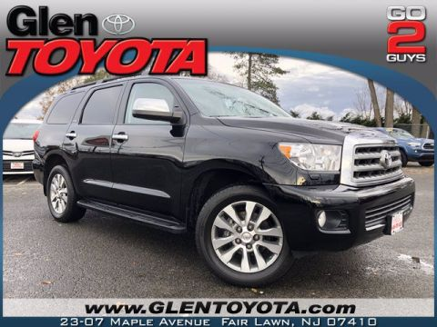 Certified Pre-Owned 2017 Toyota Sequoia Limited V8 4WD SUV
