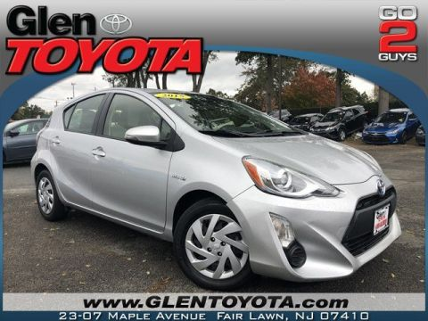 Certified Pre-Owned 2015 Toyota Prius C TWO HYBRID HATCHBACK