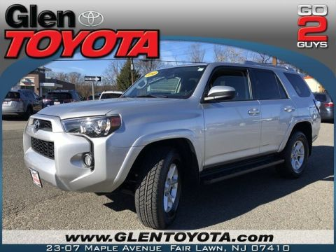 Certified Pre-Owned 2016 Toyota 4Runner SR5 V6 4WD 3RD ROW SUV